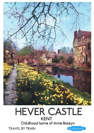 Hever Castle, childhood home of Anne Boleyn